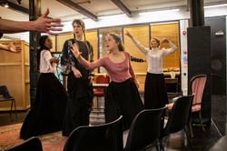 Hedda Gabler (2019) - rehearsal shot