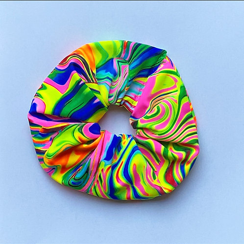'UV wave' scrunchie