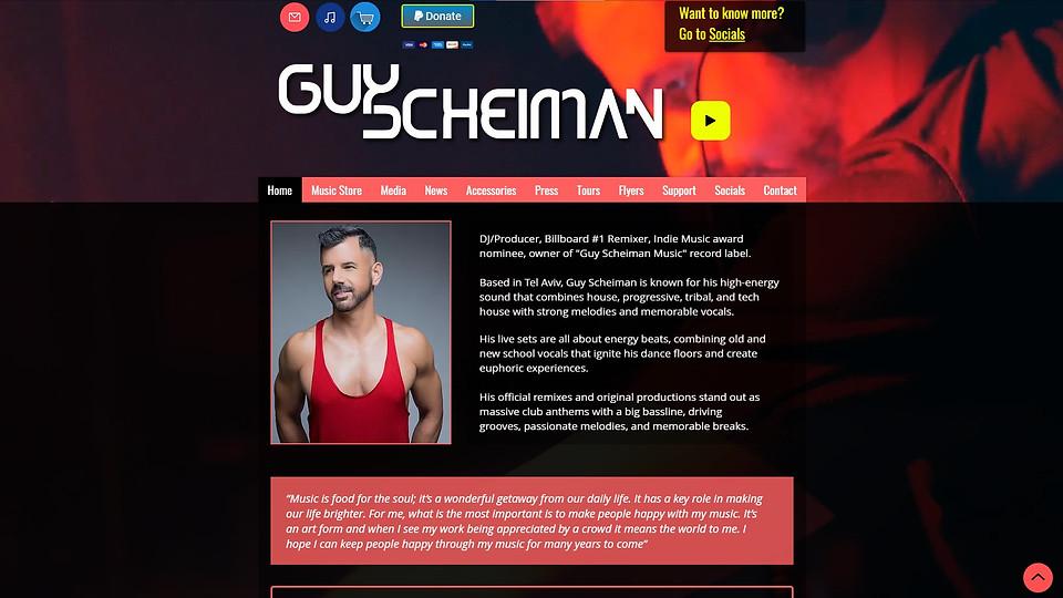 Guy Scheiman DJ I Music Producer