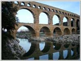 Le Pont du Gard près de Nîmes