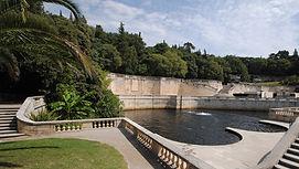 Le jardin de la Fontaine de Nîmes