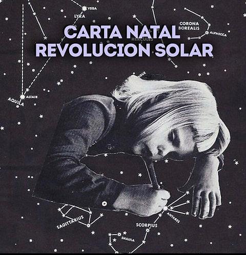 (Audio Personalizado) Carta Natal + Revolucion Solar