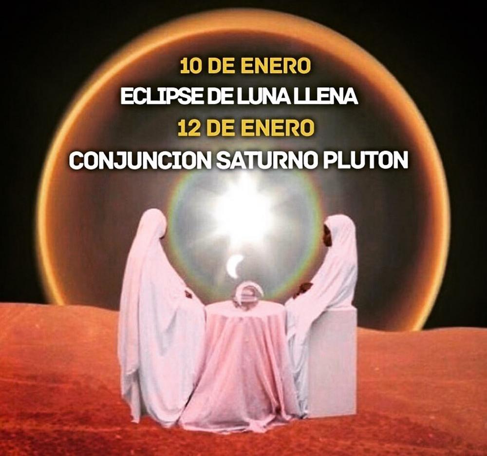 La conjunción de Plutón y Saturno en Capricornio