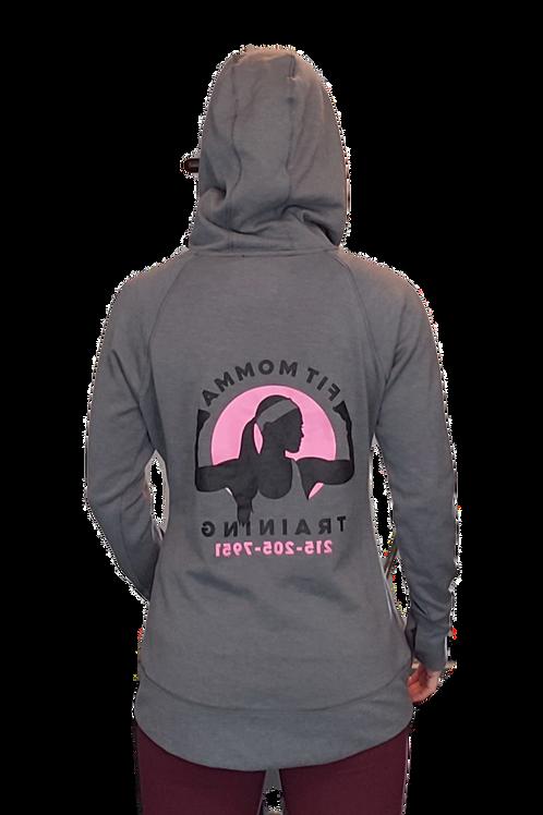 Women's Cowl Neck Hoodie