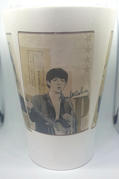 Beatles Ceramic Vase