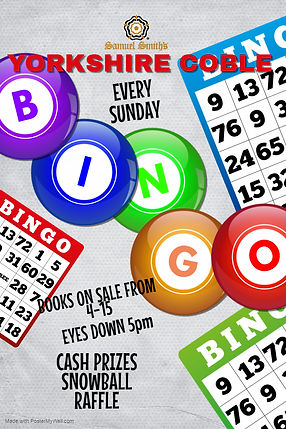 Copy of Bingo Night Flyer - Made with Po