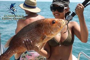 the best darwin fishing charter at Dundee Beach