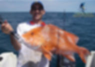 Red emperor with the Darwin fishing charter experts
