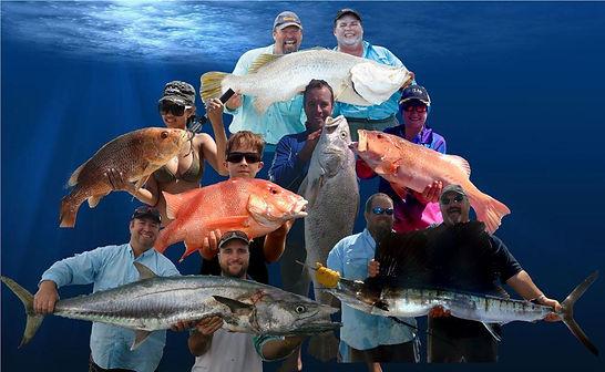 Barramundi & Bluewater fishing charters at Dundee Beach