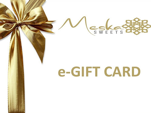 Meska Sweets e-GIFT CARD