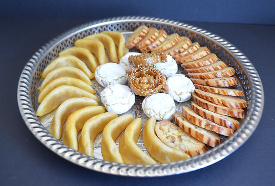 Moroccan cookies in New York City by Meska Sweets