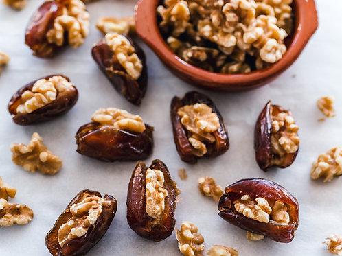Royal Stuffed Moroccan Dates (Walnuts)