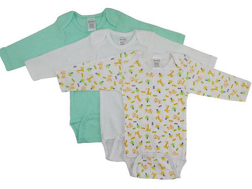 Bambini Boys Longsleeve Printed Onezie Variety Pack
