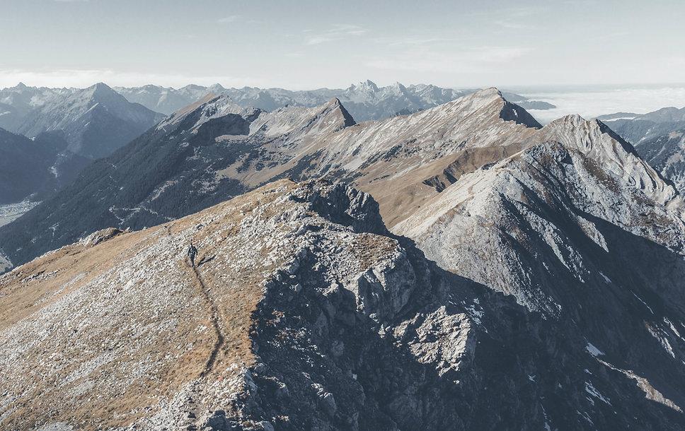 steile Berge