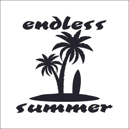 Endless Summer Surf Surfing Surfer Surfboard Decal Window Sticker