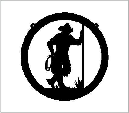 Cowboy Cowgirl Country Western Vinyl Decal Window Sticker