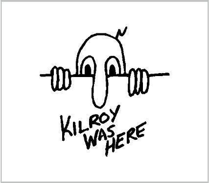 Decal Kilroy Was Here Sticker Decal Window Sticker