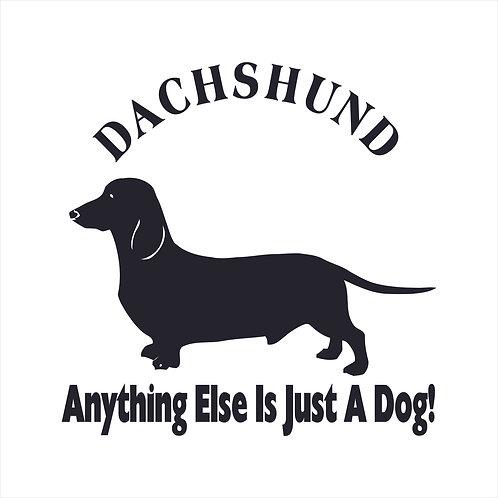 Dachshund Doxie Dog Vinyl Decal Window Sticker