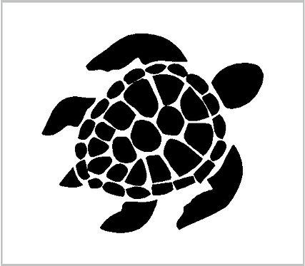 Turtle Sea Turtle Tortoise Sea Tortoise Decal Window Sticker