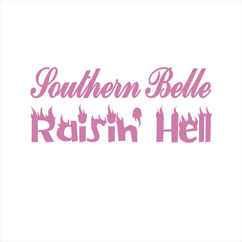 Southern Belle Country Western Cowgirl Country Girl Decal Window Sticker