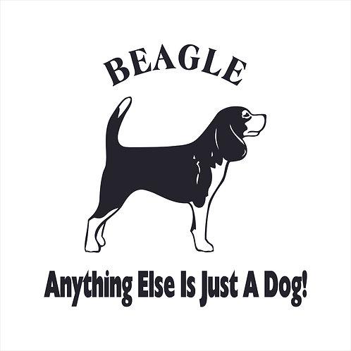 Beagle Dog Vinyl Decal Window Sticker