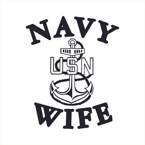 Navy Mom US Navy Mom Vinyl Decal Window Sticker
