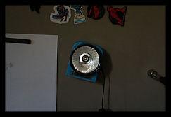 lampada magnetica, adesivi