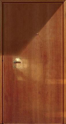 porta d'appartamento in duglas