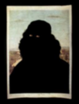 carlo de meo, botticelli, ritratto, nero, figura nera