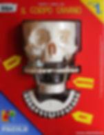 scheletro umano in kit di montaggio venduto in edicola - montaggio facile... oggetto contemporaneo della collezione privata d'arte De Meo