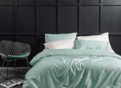 Мятное постельное бельё из королевского хлопка Minty