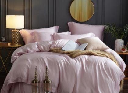 Розовое бельё из Королевского хлопка Lily