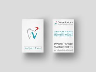 Biglietto da visita Dental Padova