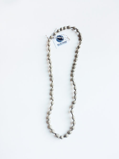Long Grey Necklace