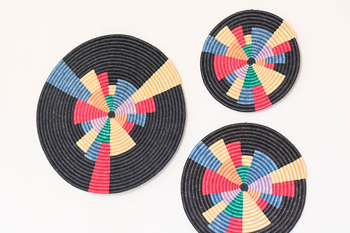 Colorful Woven Wall Art