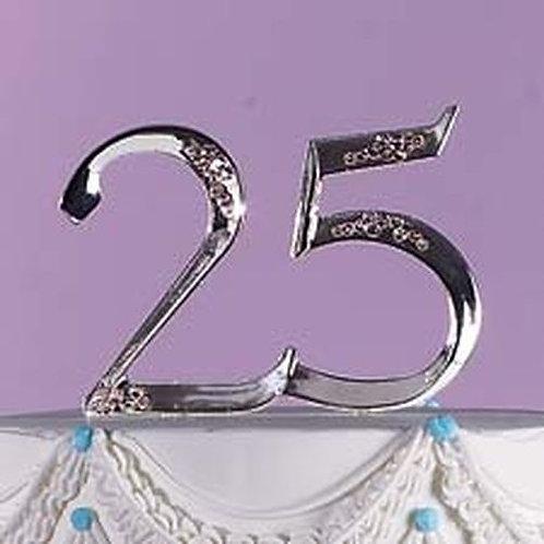 Anniversary Topper 25