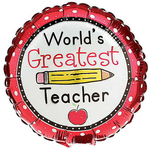 "Balloon 9"" Greatest Teacher"