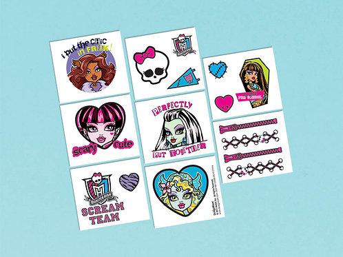 Monster High Tattoo Favor (16Ct)