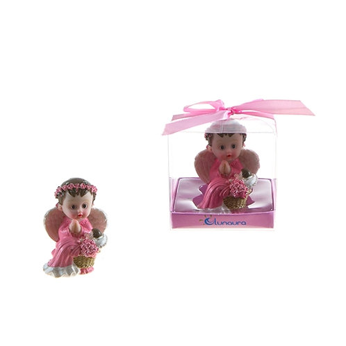 Favor Baby Angel With Toddler Pink