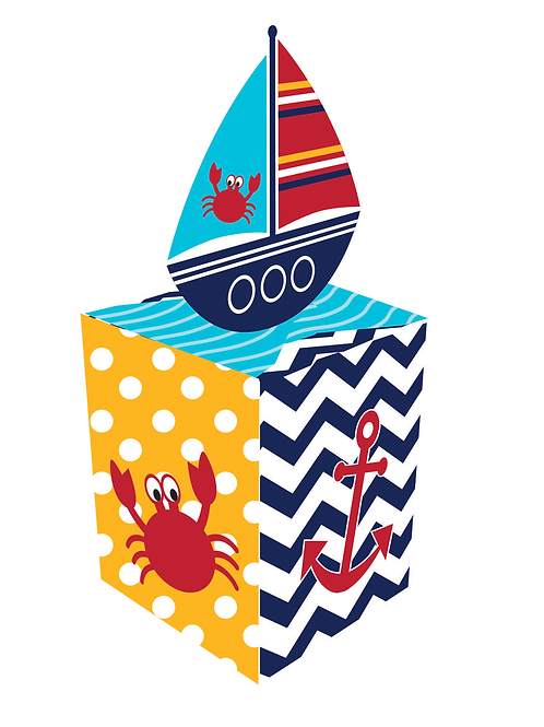Ahoy Matey Favor Box