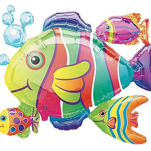 "Balloon Foil 30"" Tropic Fish"