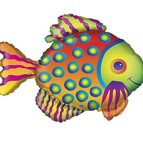 "33"" Balloon Tropical Fish"