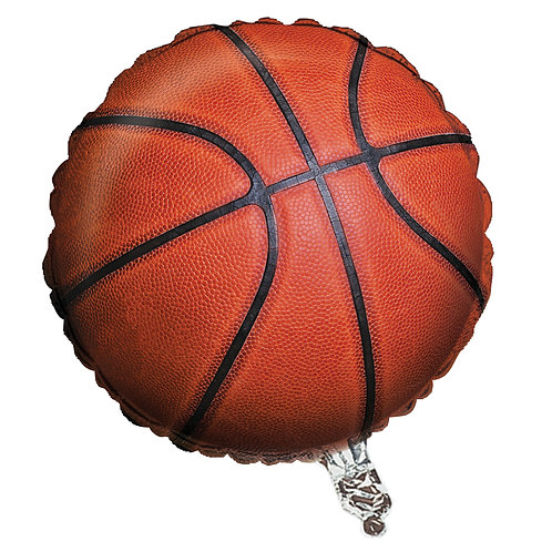 Basketball Balloon Foil 18""