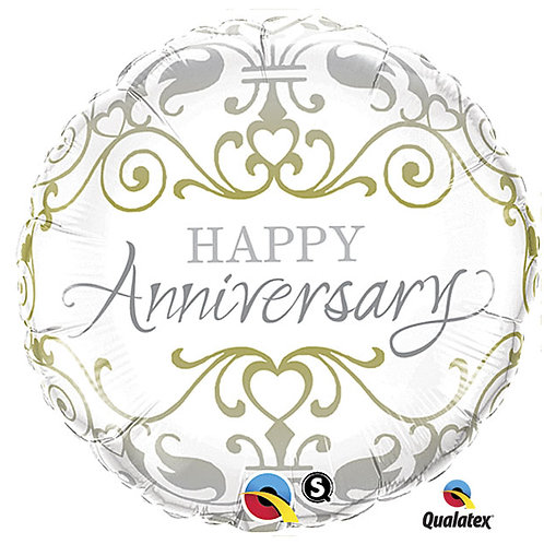 "Balloon Foil 18"" Happy Anniversary"
