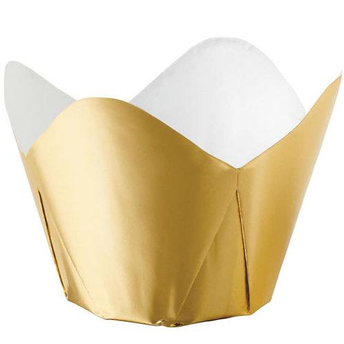 Bake Cup Foil Gold 15C