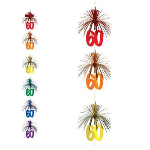 60th Birthday Firework Stringer