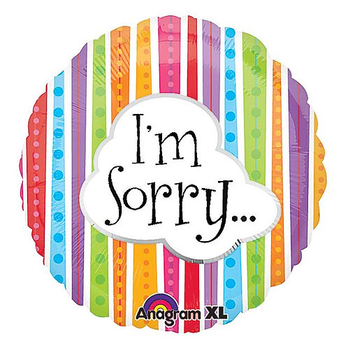 """Balloon Foil 18"""" Im Sorry..."""