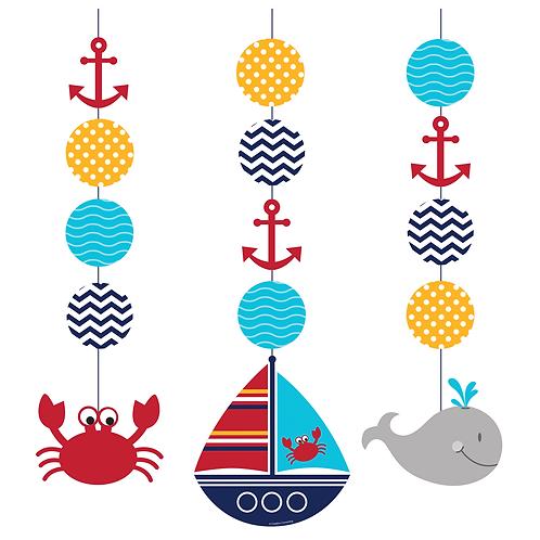 Ahoy Matey Hang Cutouts