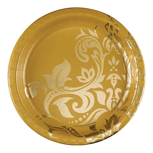 """50th Anniversary Banquet Plate 10"""" (8ct)"""