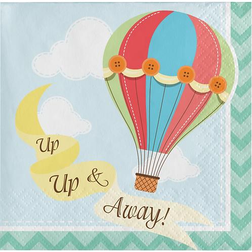 Up Up And Away Napkin Bev